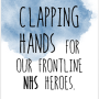 claping hands for nhs